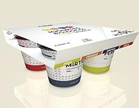Yogurt Packaging // Nestlé Rebranding