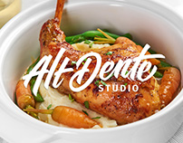 Logo redesign for Alt Dente Studio