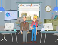Borusan İnsan-Explainer Video-Character,Concept Design