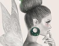 Tinkerbell Drawing (Digital Art)