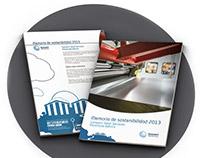 Gonvarri Steel Services IP´s Sustainability Report 2013