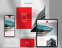 Metaphor Media - Interior Design. Website