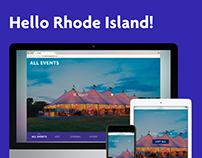 Hello Rhode Island!: Responsive Website (2016)