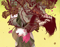 Brigands #1 Variant Cover +ImagineFX article