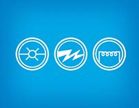 ICE Co. Electric // Branding + Identity