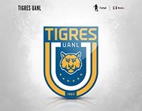 Tigres UANL | logo redesign