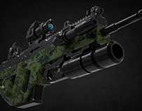 Assault Rifle A3 (Concept by Zeropoint Software)