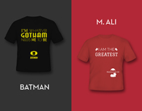 Quotes & T-Shirts