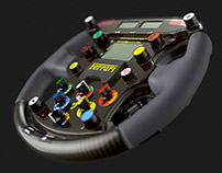 Ferrari F1 2000 Steering Wheel