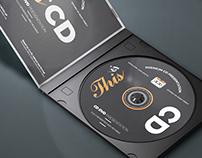 CD and DVD Mockups