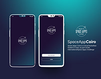 NASA Space app Mobile application (UI/UX DESIGN)