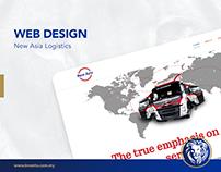Web Design - New Asia Logistics