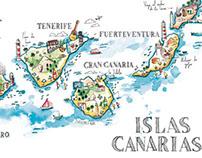 Illustration map - Cícero Canary 2015