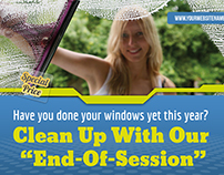 Cleaning Services Postcard Template Vol.2