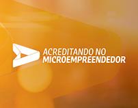 Logotipo Acreditando no Microempreendedor