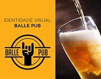 IDENTIDADE VISUAL BALLE PUB
