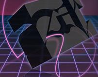 """Zab """" Retro-Futuristic"""" Poster"""