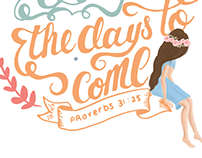 Type Design, For The Women (Proverbs 31:25)