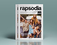 Rapsodia - Music festival magazine for Urban Outfitters