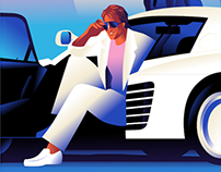 Miami Vice artwork