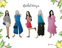 Rachel Vennya - Fashion Illustration