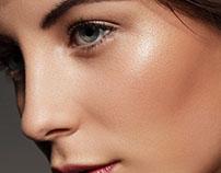 close up portrait retouch