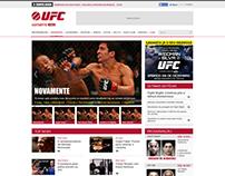 Estudo // Site UFC