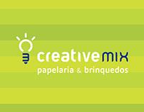 Creative Mix - Identidade Visual, Naming e Sinalização