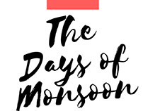The Days Monsoon - Identity design