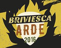 Cartel Briviesca Arde 2016