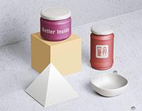 LIANG SHI baking logo design 量食烘焙品牌字体标志设计