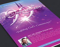 Church Celebration Program Template