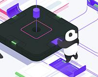 The Digital Panda illustration