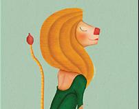 Brand illustration. Ana Isabel Gil Studio Hippocampus
