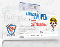 GCT Rasul Admission Campaign - FB Cover + DP