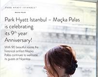 Park Hyatt Istanbul Maçka Palas e-card