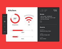 Daily UI #21 - Home monitoring