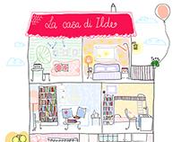La casa di Ilde - disegni per il blog