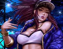 League of Legends: Akali K.Da