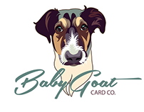 Baby Goat Card Co. Logo