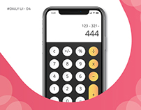 #Daily UI-05 #Calculator