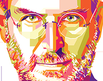 Steve Jobs Potrait Illustration