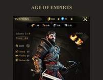Age of Empires Game UI SLG