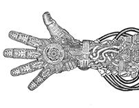 Lazarus inmersion suit: Left hand