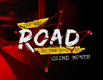 The red road to the murderer