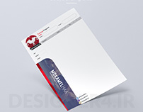 Letterhead for Bodybuilding club
