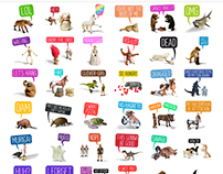 Toy Stories iMessage Stickers