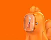 CLOCK-a-doodle-doo