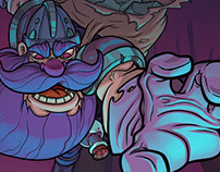 Dwarfs'n Goblins Illustration