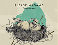 "Artwork for the band ""Please Madame"""